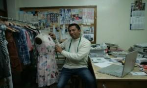 Jorge Luis Salinas creció en pleno corazón de Gamarra.
