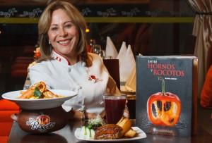 Blanca Chávez afirma que el negocio de restaurante es muy sacrificado y a veces lloraba en la cocina. Es madre de cuatro hijos y empezó sola porque su esposo quería que se dedique al hogar.