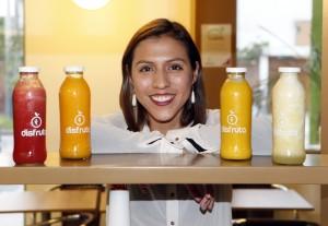 """Azucena Gutiérrez: """"En Disfruta hacemos los jugos con amor"""""""