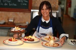 """Sandra Plevisani : """"Fui cocinera, mesera, lavaba manteles, hice de todo"""""""