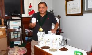 Félix Marín, exportador de café