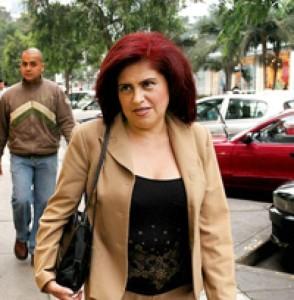 A la fiscal Luz Loayza no le tembló la mano cuando solicitó la detención de Fernando Zevallos.