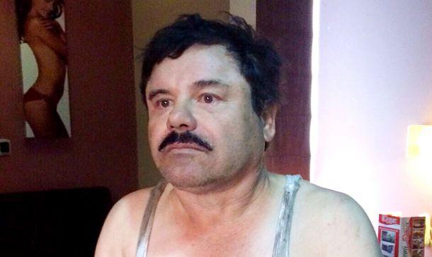 El 'Chapo' Guzmán en Lima.