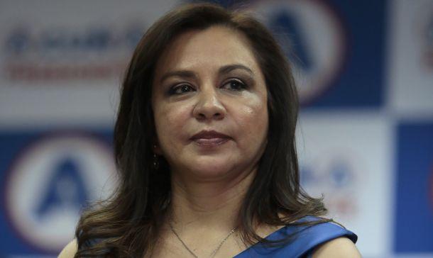 Marisol Espinoza proyectaba la imagen de una política intachable. Hoy su imagen se ha desdibujado.