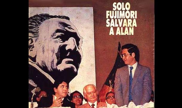Lo que pocos recuerdan es que cuando Alan García era presidente de la República, él sí tuvo un candidato al que apoyó abiertamente y lo ayudó a  ganar: Alberto Fujimori.