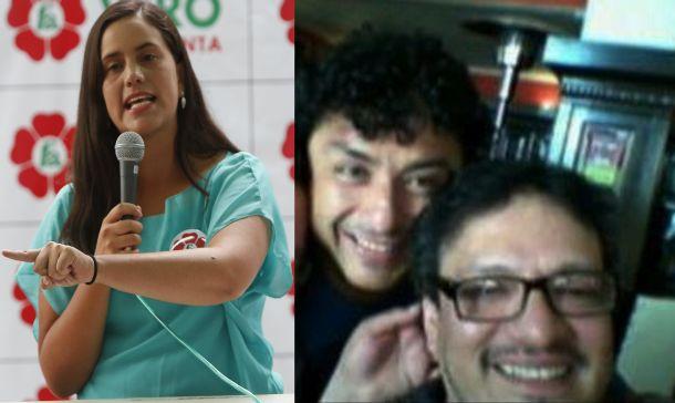 Verónika Mendoza y su amistad con Guillermo Bermejo Rojas, quien tiene proceso judicial por terrorismo y huyó a Venezuela.