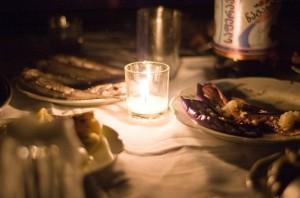 Una cena ligera.